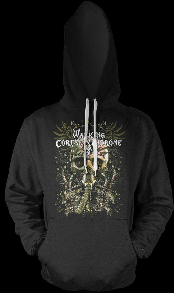 "Pullover ""Alive in Desolation"" Hoody"