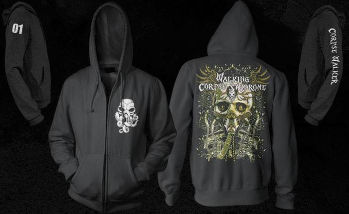 "The Limited Edition, Numbered ""Alive in Desolation"" Zipper Hoody"