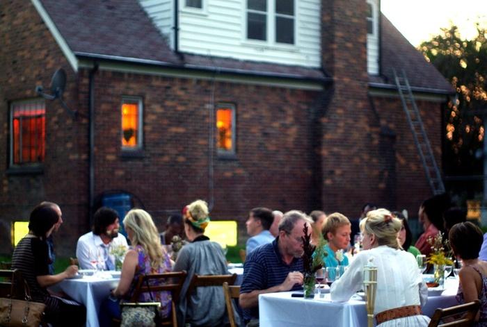 August Dinner @ Rhiza Farm in Highland Park (Detroit), MI. PHOTOGRAPHED BY KARPOV WRECKED TRAIN