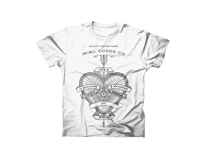 New T-shirt Design. The Ace of Hearts.