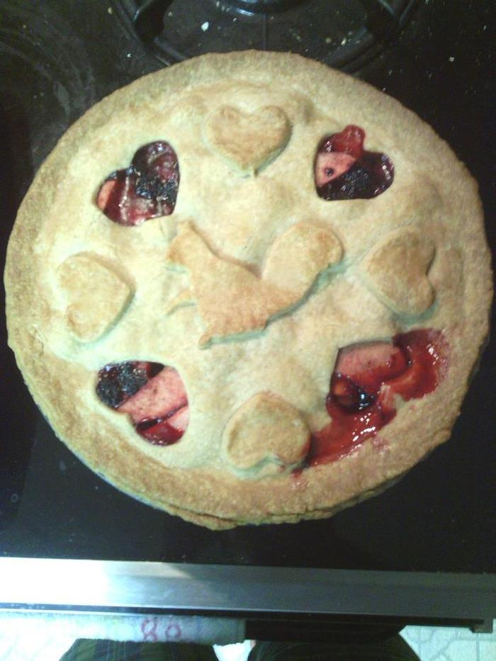 this pie was made by Stephan