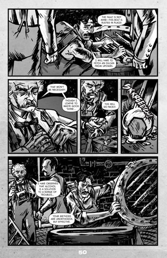 The Wardenclyffe Horror — A Graphic Novel