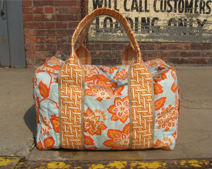 Duffle $161 backer's reward (Pat's actual duffle pictured)