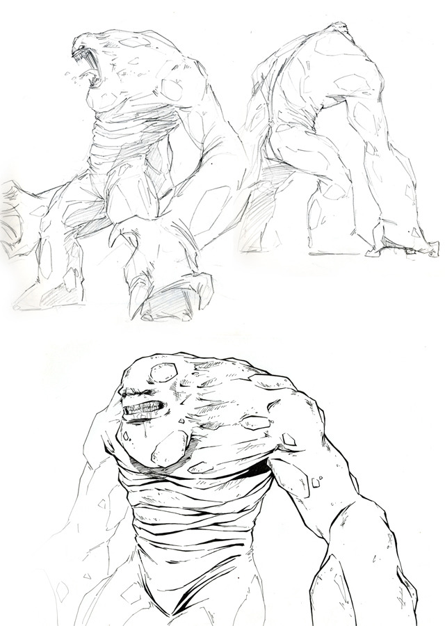 Kodoja Concept Sketches by Rory Smith