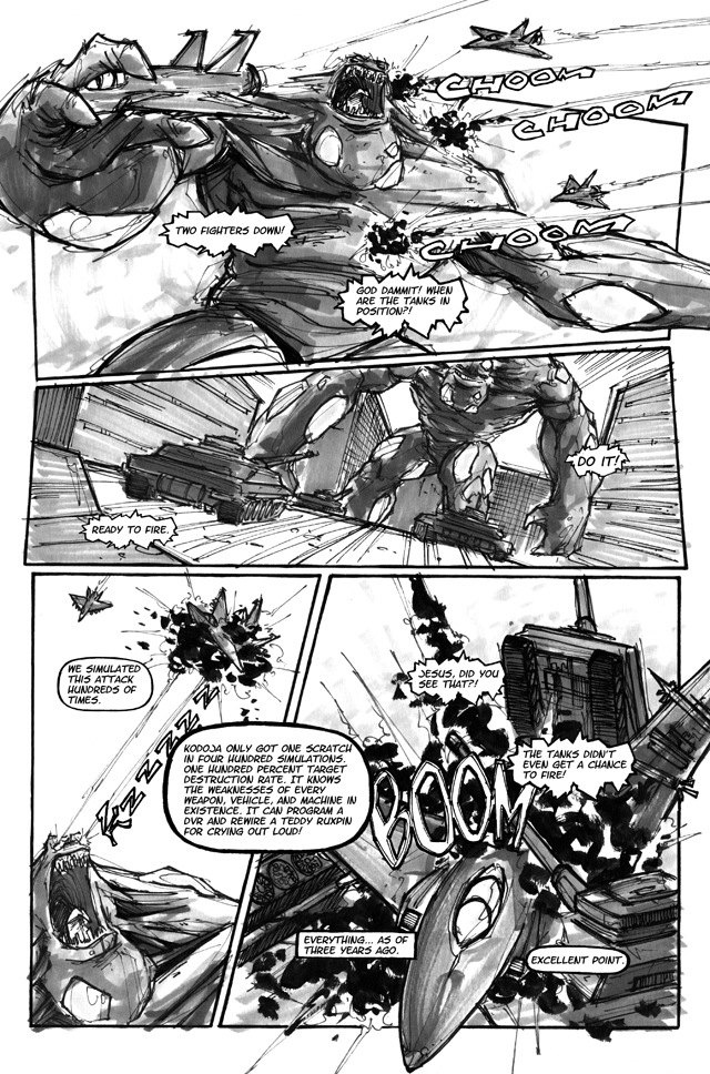 Sample Interior Page from Issue 1