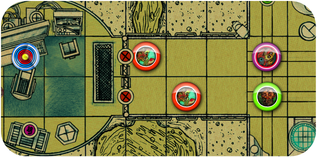 A section of mission map designed with our editing tool.