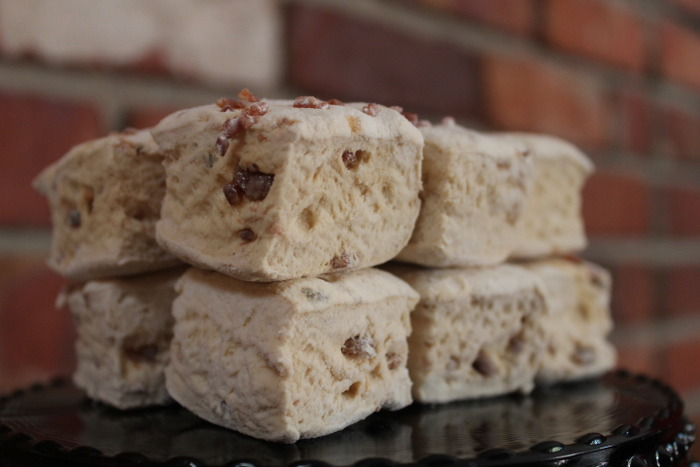 """""""NOLA Baby"""" - the deep hickory taste of Cafe Du Monde coffee, French Quarter Praline liqueur, and candied bacon brittle bits (""""show your bits!""""). Marshmallow rewards will be sent out by mid-December, just in time for the holidays."""