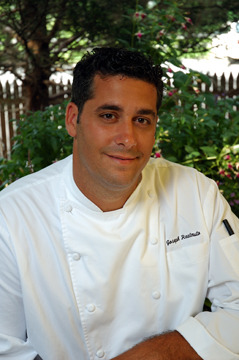 Joe Realmuto, Executive Chef at Nick & Toni's and co-founder of the Springs Seedling Project with Bryan Futerman is one of our founding members.