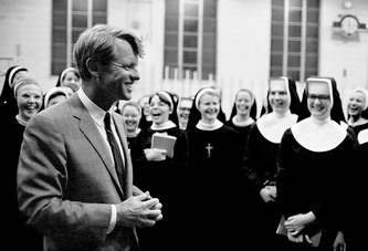 RFK WITH NUNS 1968.  Yours with a donation!