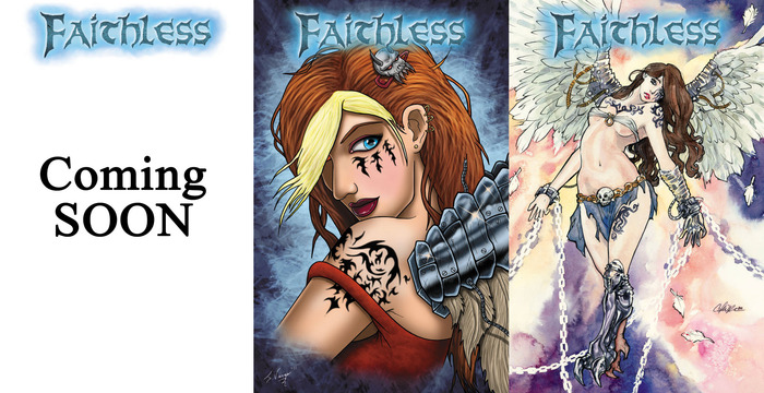 3 Faithless issue #1 covers