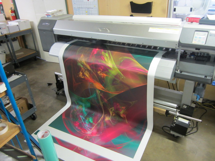 "Printing 4 X 6 foot ""Sistine"" (Wormhole project)"