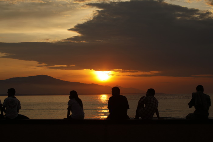 sunset in Dili photo by Shane Sigler