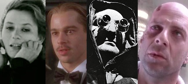 The deterioration of the characters and their psyche in La Jetee and 12 Monkeys.