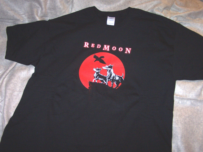 Original Red Moon T-Shirt offered in the $40 Reward