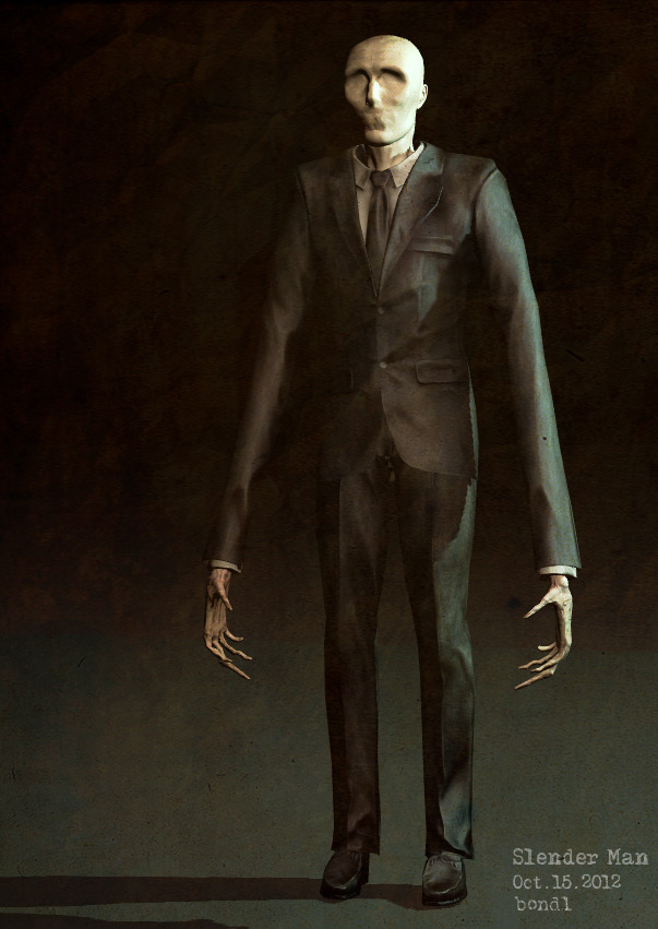 The slender - he'll make you jump!