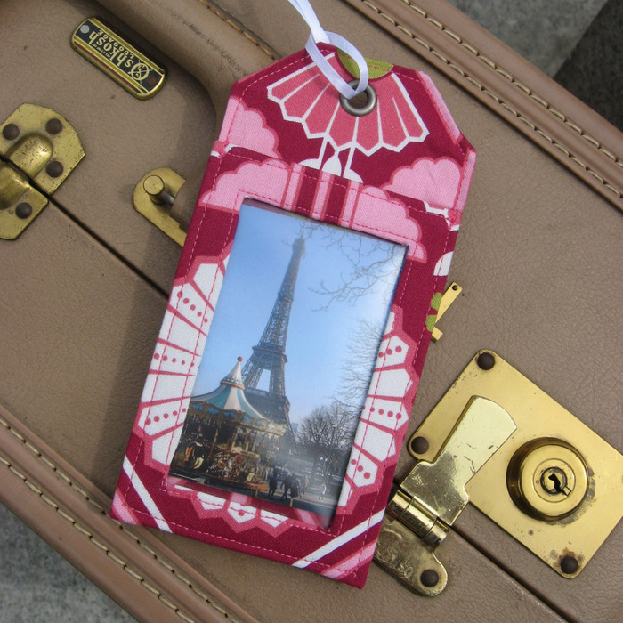 One luggage tag $14 backer reward or 2 tags for $25 reward