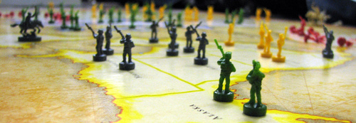 Strategic territory control - like in the board game Risk - in Hailan Rising.
