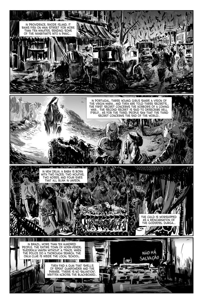 EDGE OF THE UNKNOWN II page 1