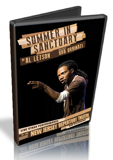 Summer in Sanctuary DVD of Al's complete performance at the New Jersey Rep. Check out the trailer below.