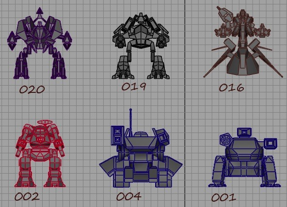 Early Mech Concepts