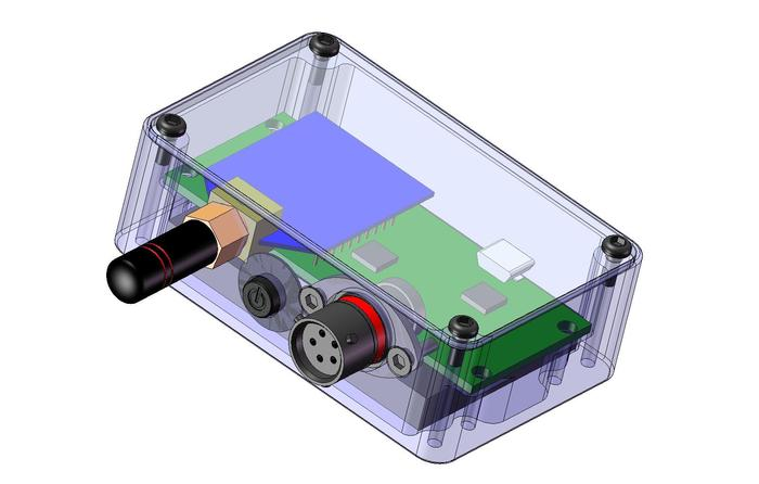 LINC Sensor Bridge CAD Model