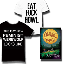Choose the $50 Backer level or above to get one of these tees plus both books!