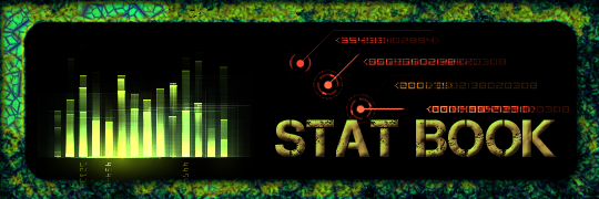 Read the super detailed Statistics book and find out all sorts of nifty information to help you last longer or kill harder in game!