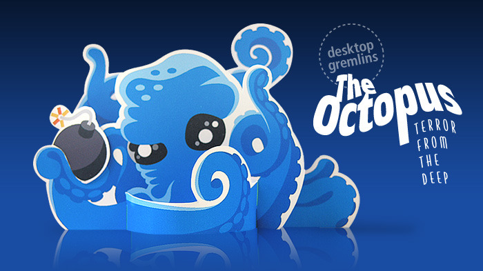 The world-famous Octopus will be available in the book in special-edition format!