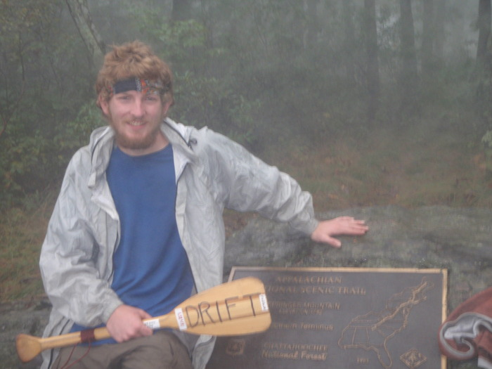 After hiking 2200 miles, I became the first person to finish the Appalachian Trail southbound in 2009