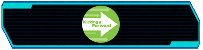 This project is participating in the Kicking it Forward Campaign. Five percent of this projects final release profits will be used to fund other Kickstarters.