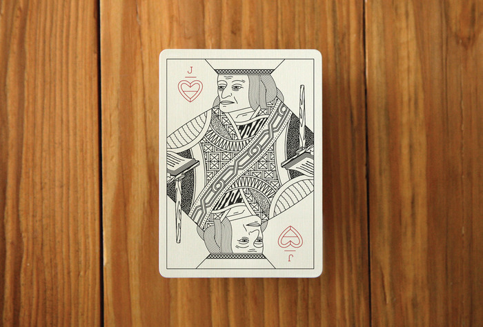 A mock up of a Jack card. The Jack of Hearts.