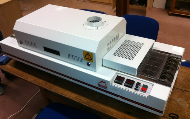 Our New PCB Reflow Oven