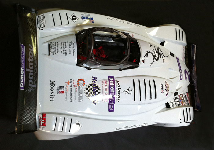 2012 Palatov D4PPS with top sponsor names and logos