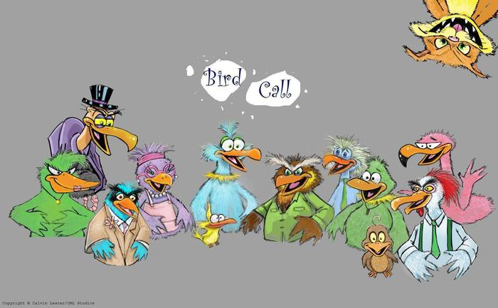 "The Cast of ""Bird Call"" - © Copyright CML Studios.  All rights reserved."