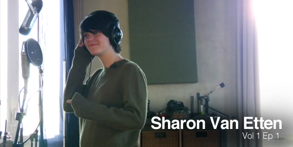"Shaking Through Ep. 1: Sharon Van Etten recording ""Love More"" - January 2010"