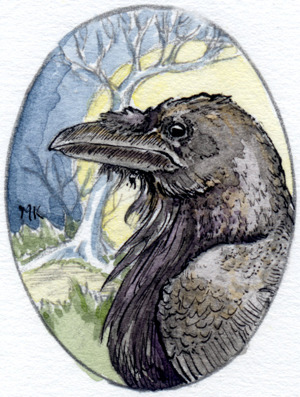 Quoth the Raven - an original art reward!