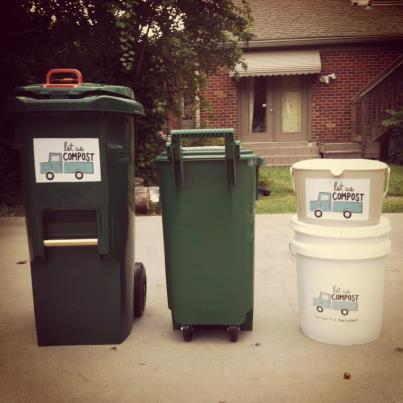 Our commerical and residential food waste collector options.