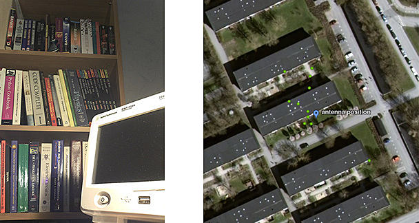 Sample photo and gps data from the Memoto prototype camera