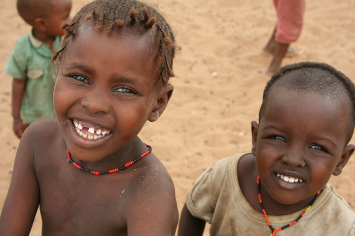 Children of Turkwell, courtesy of the Turkana Basin Institute