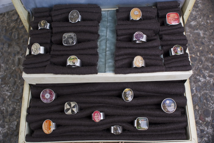 The various types of rings you can get with a pledge of only $35!
