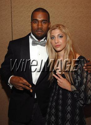 Lanz Pierce and Kanye West Song Writers Hall Of Fame Dinner