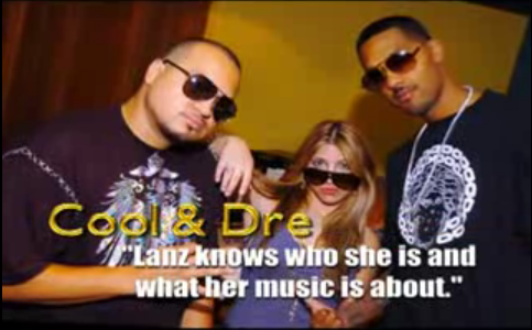 Hit Makers COOL & DRE in the studio with LANZ PIERCE