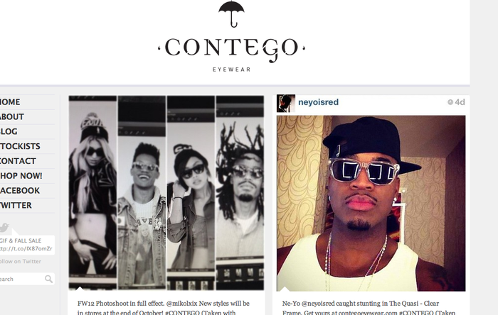 Lanz Pierce becomes one of the newest faces in the Contego Eyewear campaigns.