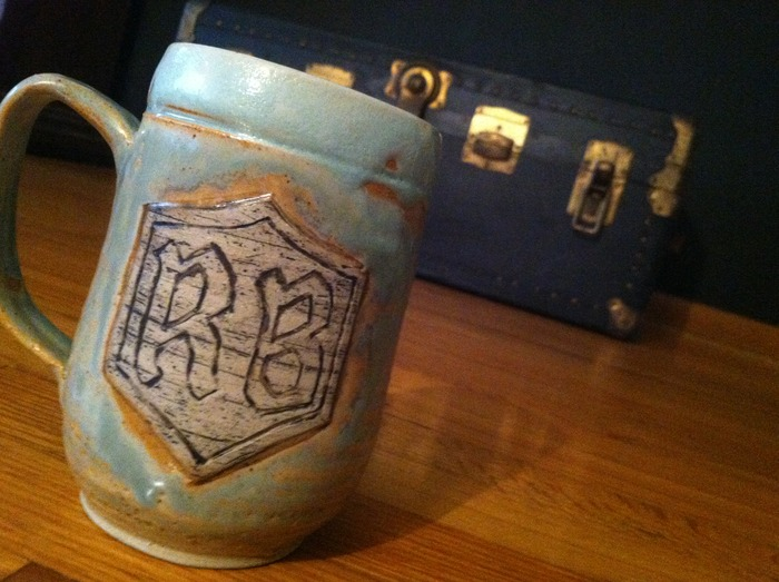 MugClub – Mug for Mug Club Members – Made by Stray Cat Studios in Beaver Falls, PA