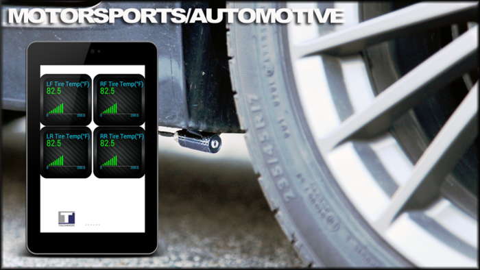 Real-Time Tire Temperature with LINC