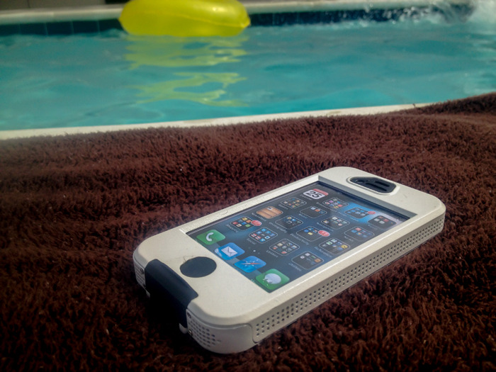 A waterproof case for everyday use