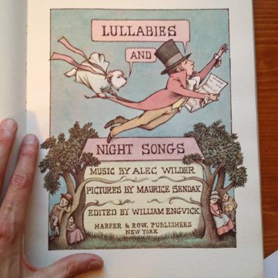 Lullabies and Night Songs hardcover by Alec Wilder & Maurice Sendak