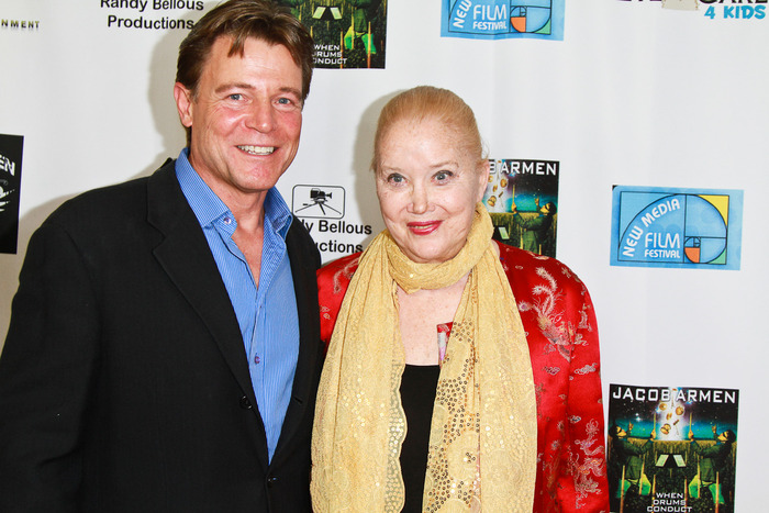 Actor Brett Stimely and Oscar Nominee Sally Kirkland