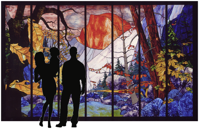 4 seasons of yosemite murals by poulson studio and for 4 seasons mural