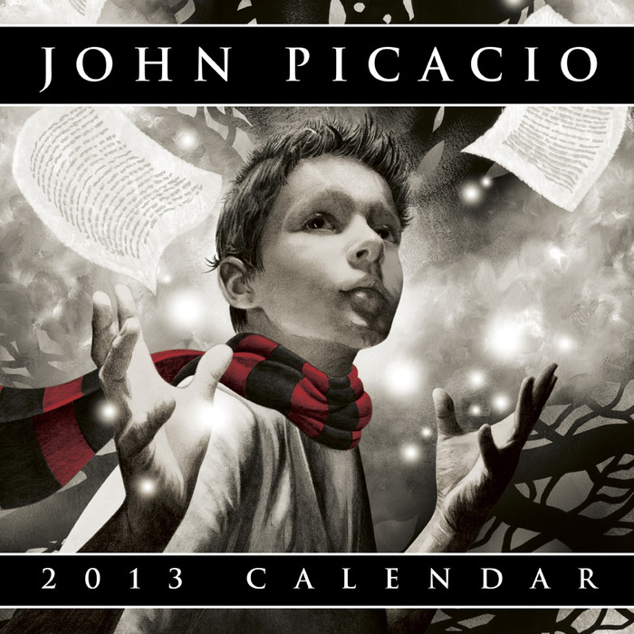 Cover of the 2013 John Picacio Calendar